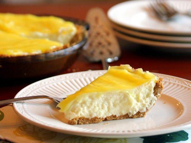 Tarta de limon fria