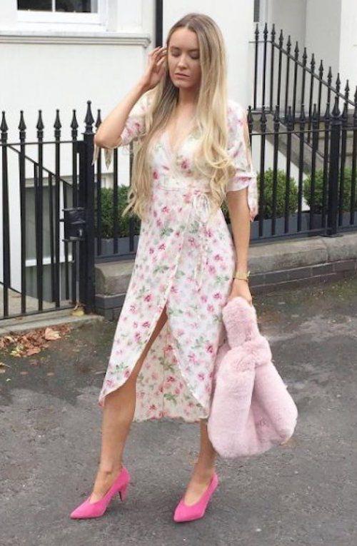 Midi Wrap Dress. UK 14 / US 10. UK 16 / US 12. UK 10 / US 6. UK 12 / US 8. Jacquard Floral Pattern. UK 6/ US 2. UK 8 / US 4. | eBay!