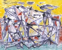 William Gear, Landscape Stucture, 1948