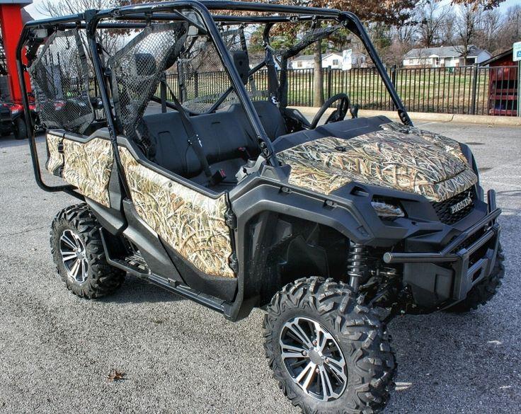 Custom 2016 Honda Pioneer 1000 Wrap Side by Side ATV