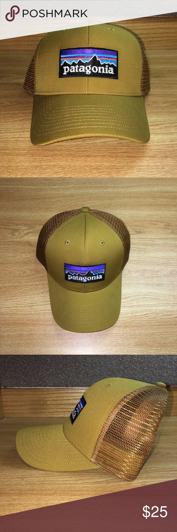 NWOT Patagonia Snapback Trucker Hat Brand new Patagonia Trucker Hat - New without Tags - Tan front and Tan mesh - classic Patagonia logo on front - curved bill and snapback - Perfect condition Fast Shipping!  Patagonia Accessories Hats