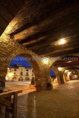 Spain Northern Aragon Pyrenees Pyreneean Ainsa,