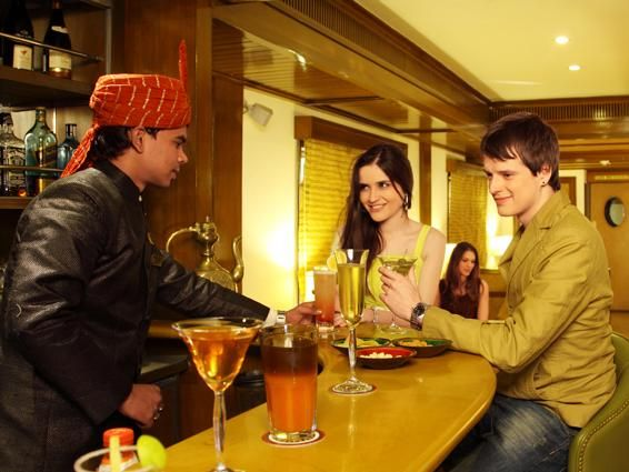 Maharajas' Express' plush lounge and bar cars are its main attractions Know more at http://www.the-maharajas.com/maharajas/maharajas-express-lounge.html
