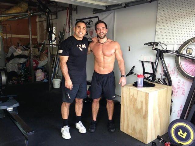 Rich Froning and Jason Khalipa...friends and rivals ...