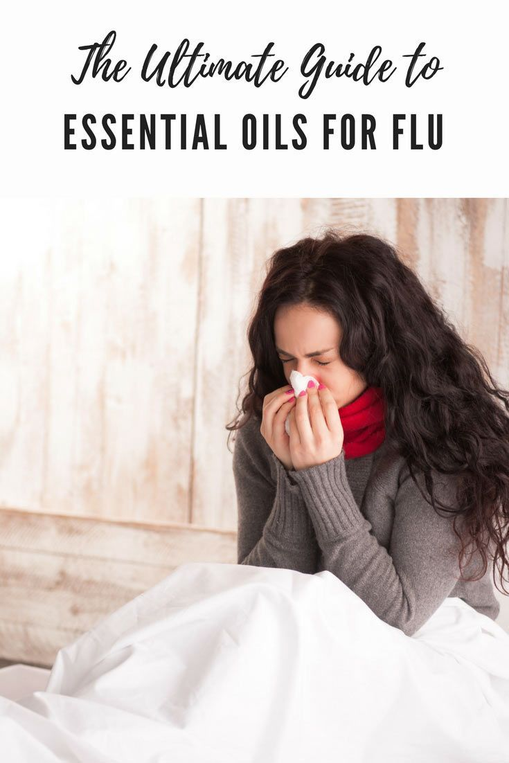 When you are sick, essential oils for flu can help support your immune system so that you are on the mend before you know it.  Here are the best essential oils for flu! via @wendypolisi