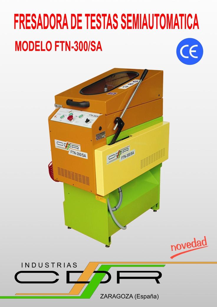 Fresadora de Testas Semiautomática Modelo FTN-300/SA