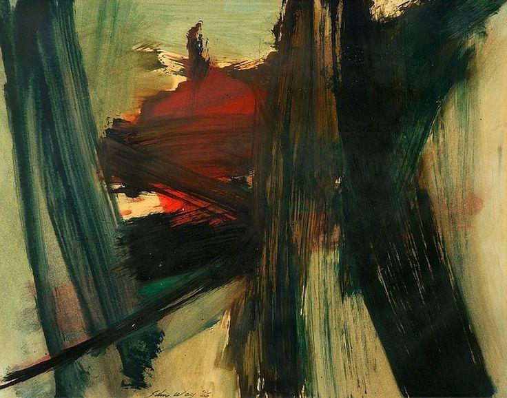 John Way (1921 - 2012) - американский художник-абстракционист китайского происхождения. «Абстракционизм – abstract art» в социальных сетях - https://www.1abstractart.com/---abstract-art