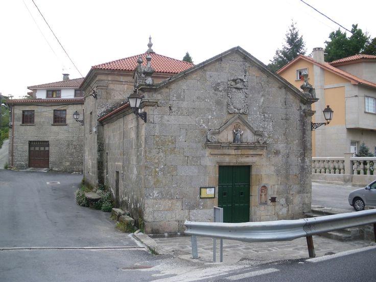 Iglesia de Santa María de Alba, Pontevedra, Camino Portugués
