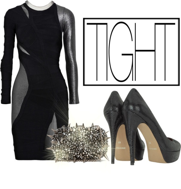 """""""TIGHT - Girls Night Out"""" by latoyacl on Polyvore"""