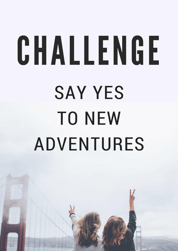 5 jaar geleden zei ik nooit ja tegen nieuwe avonturen. Door meer ja te zeggen veranderde mijn leven. Met deze challenge gaat jouw leven ook veranderen!