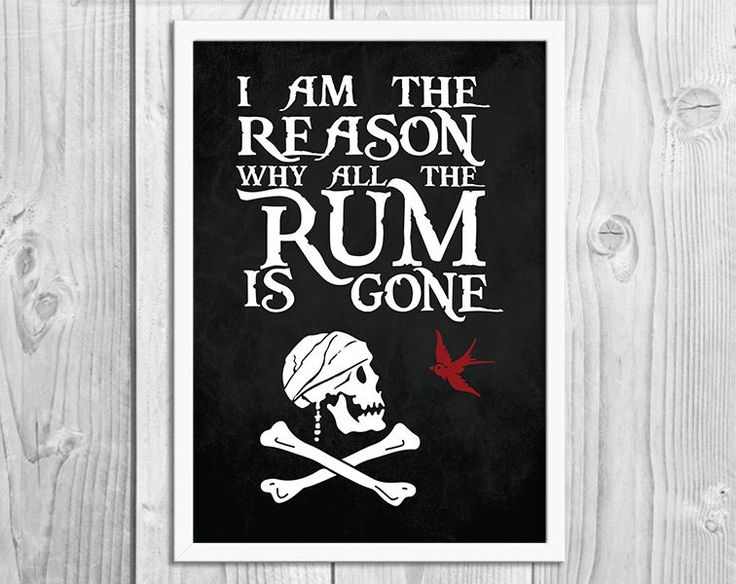 Why Is The Rum Gone Quote: 98 Best Quotes That Make Me Smile. Images On Pinterest