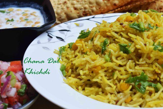 Chana Dal Khichdi/ How to make chana dal pulao A Light & healthy dinner tonight #chanadalpulao #khichdi #chanadal #rice #kachumbersalad #papad #raita  #onepotmeal #lazyday Recipe at: www.annapurnaz.in