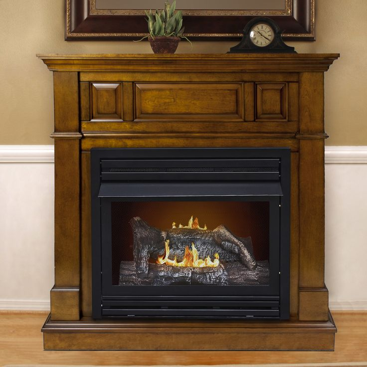 features dual fuel technology liquid propane or natural gas dual burner with thermostat unvented gasfired heater it uses air oxygen - Gas Fireplace Ventless