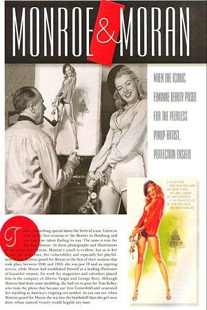 1960: Playboy magazine article of Marilyn Monroe by Earl Moran .... #marilynmonroe #normajeane #vintagemagazine #pinup #iconic #raremagazine #magazinecover #hollywoodactress #1960s #playboy