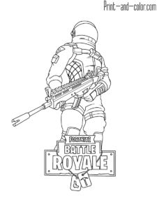 Fortnite Fortnite Coloring Pages In 2019 Color