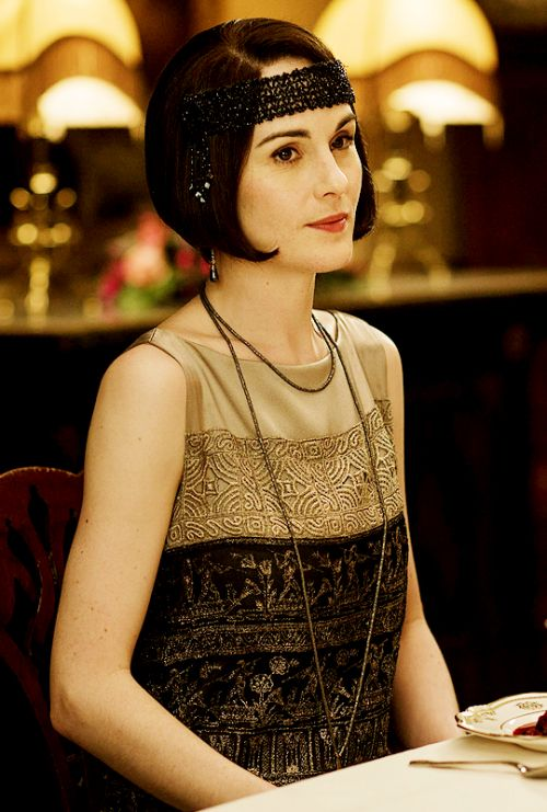 Downton Obsession | S6 E9 Christmas Special | Lady Mary Crawley. bob hair. flapper