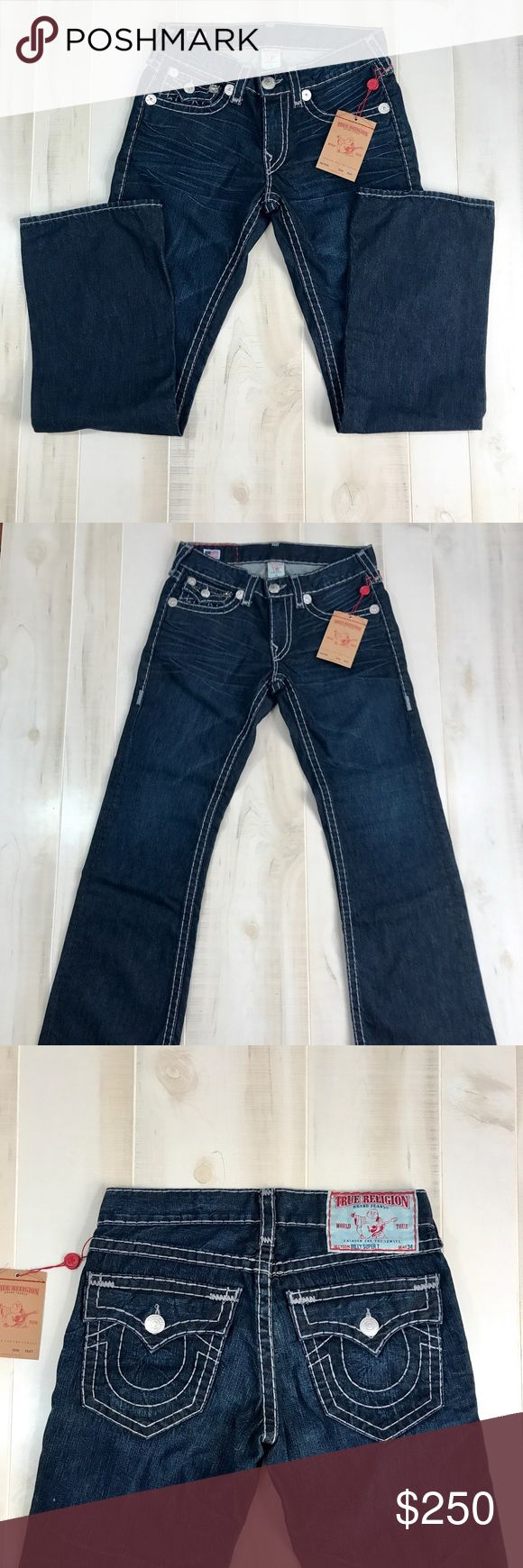 """🎉HP🎉Men's True Religion 32 x 34 Bootcut Jeans Men's True Religion 32 x 34 Billy Super T Bootcut Jeans. I consider all reasonable offers made through the """"offer"""" feature. No trades. True Religion Jeans Bootcut"""