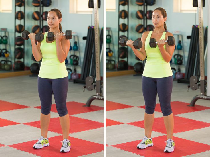 Strong biceps are not just for show—they are responsible for bending the elbow and make it possible for you to lift and carry heavy objects—including your own body weight. This 10-minute biceps workout is a great way to strengthen these essential muscles.