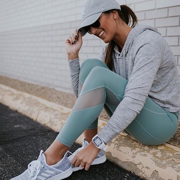 15ea3066b3 Women Cloudfoam Pure Sneaker - Women's -Black/White | Leggings ...