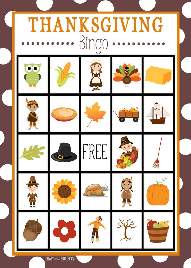Best 25 Thanksgiving Bingo Ideas On Pinterest