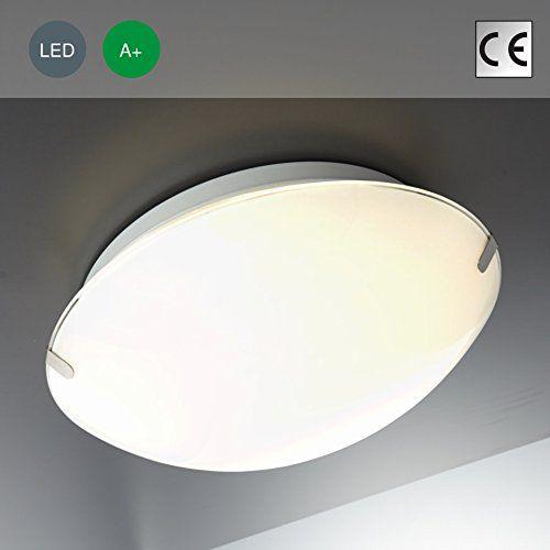 LED Deckenleuchte Glas Lampe Deckenlampe Strahler Spots Wohnzimmerlampe Wei