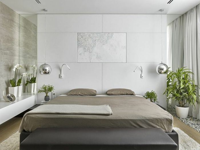 2530 best chambre coucher images on pinterest - Chambre a coucher feng shui ...