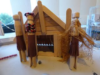 Matariki - how to make a Wharenui (meeting house).