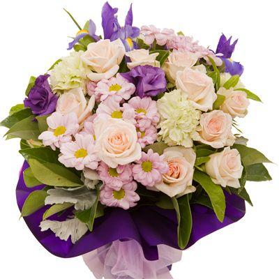 Mixed Rose Arrangement #roses #flowers