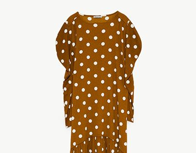 "Check out new work on my @Behance portfolio: ""ZARA - TRF / Polka dot dress"" http://be.net/gallery/61729377/ZARA-TRF-Polka-dot-dress"