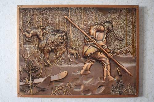 Картины (живопись) : Охота на медведя