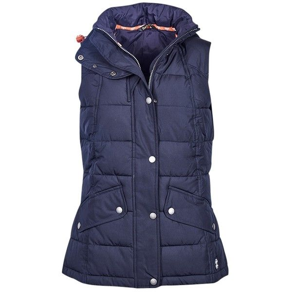 Barbour Landry Gilet, Navy (315 BGN) ❤ liked on Polyvore featuring outerwear, vests, gilet vest, navy blue vest, barbour gilet, barbour and navy blue quilted vest
