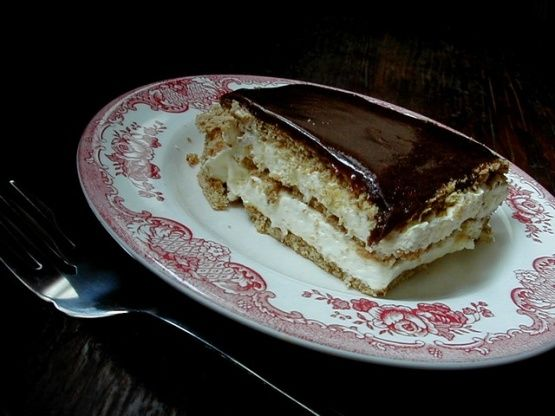 Make and share this Chocolate Eclair Cake recipe from Food.com.