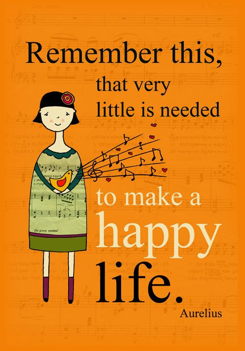 Remember this, that very little needed to make a happy life | Marcus Aurelius
