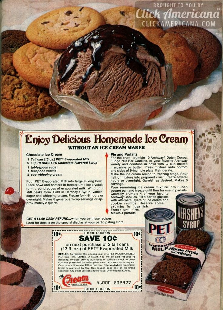 how to make ice cream with evaporated milk and sugar