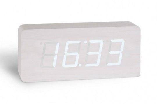 | Horloge digitale design multifonctions Opio | art and design news, art news | horloge-design-blanche-opio-540x359