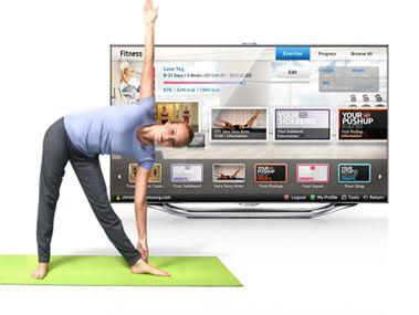 Έχεις τηλεόραση smart; Έχεις προσωπικό γυμναστή στο σπίτι σου! Κατέβασε την εφαρμογή Daily Workout ή Fitness VOD και μετάτρεψε την Samsung smart tv σου στον πιο πρωτότυπο personal trainer!  #mediamarkt #tv #smarttv #gadget #gadgets #samsungtv #onlinsestore