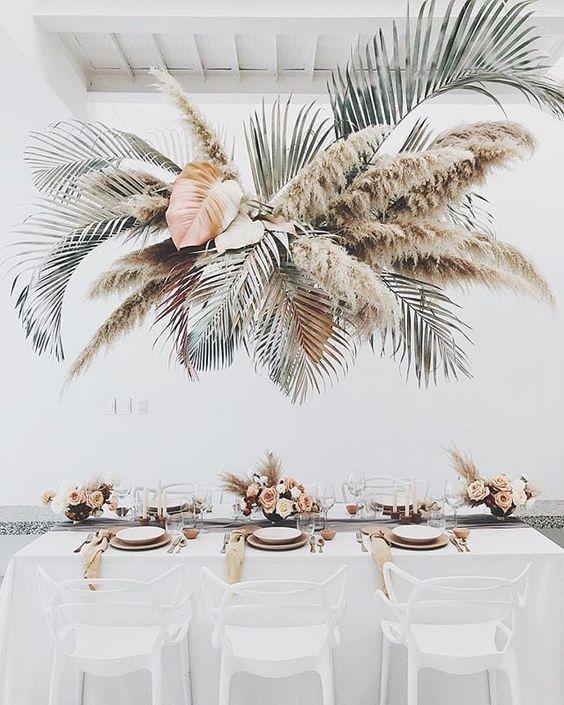 Getrocknetes Gras Hochzeit Inspiration – Blush + Bowties | Toronto Hochzeitsplaner   – Wedding Ideas