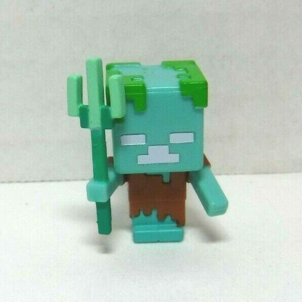 Minecraft Series 15 Aquatic Series The Drowned New w/ Box