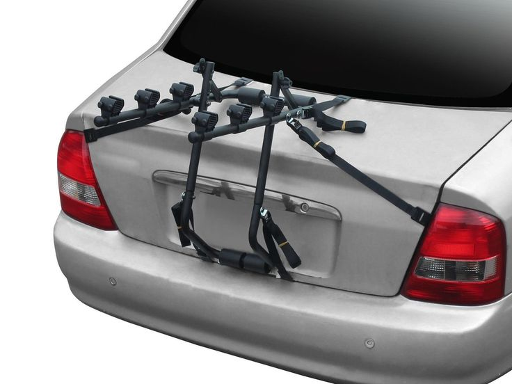 3 Bike Car Carrier Rack Bicycle Rear Racks Strong. Lifetime Warranty and Made in Taiwan. Universal Trunk Bike Carrier: VZ-F13-005 is compatible with many kinds of car and bicycle, using special design to attach on your Sedan, Hatchback car. Six Strap Holding System: With Six different side holding strap, you can attach the carrier on your car steady for every outdoor situation, Besides, we provide a extremely strong buckle for safety which been authorized under 300 hours rust testing, and...