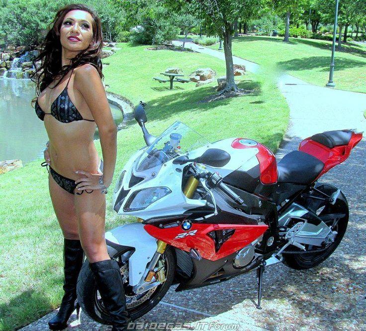 Bmw S1000rr Hot Bikini Girl Cars Amp Motorcycles Pinterest