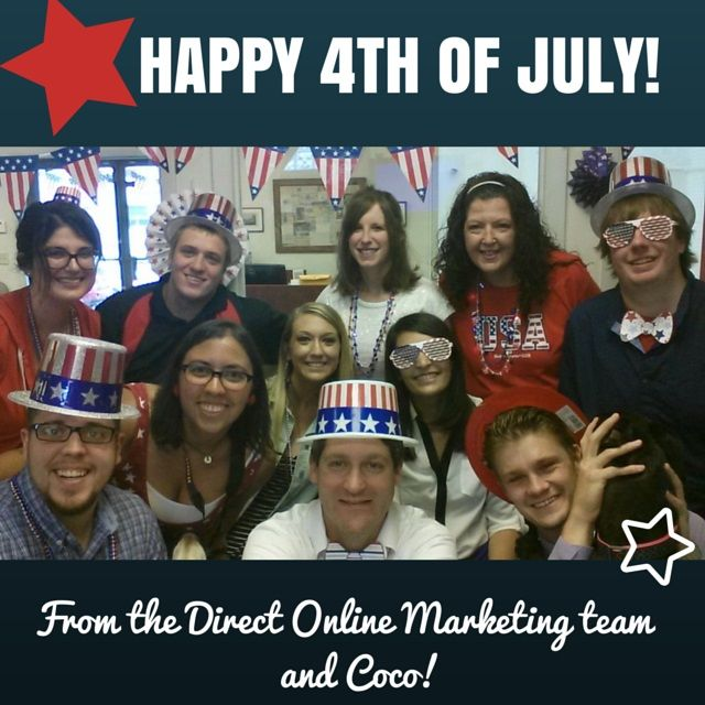 Happy 4th of July from our family to yours! :)