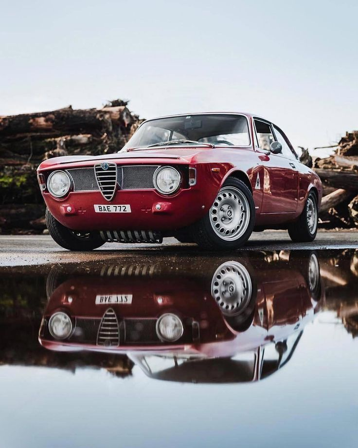 Pin By Gerald Santiago On Automobiles Alfa Romeo Gta