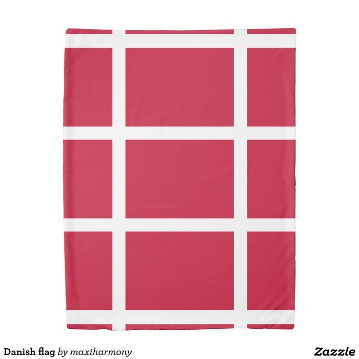 Danish flag duvet cover