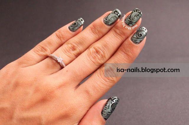 nail art qui bave
