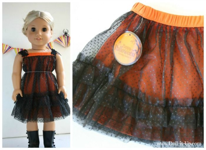 9 Quick and Easy Doll Outfits Made from Girl's Skirts! | Doll It Up