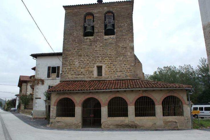 Parroquia de San Nicolas, Larrasoaña, Navarra, Camino de Santiago