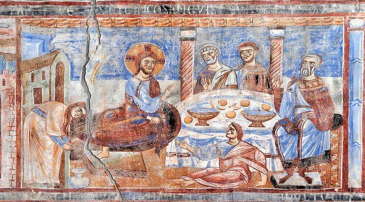 La donna del vasetto di profumo - Sant'Angelo in Formis