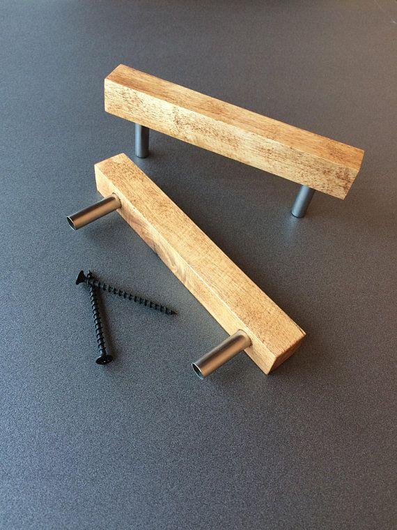 Ricevilo entro martedì 23 marzo. Set 2 Wooden Pulls Maniglia Per Mobili Modern Cabinet Handles Mobili Fai Da Te Legno Armadi Fai Da Te Maniglie