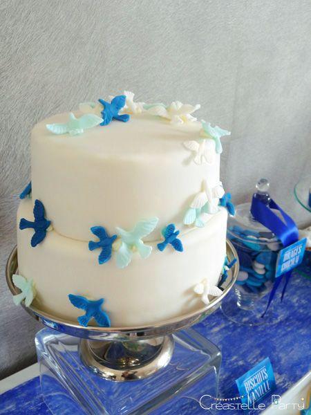 gâteau mini-colombes