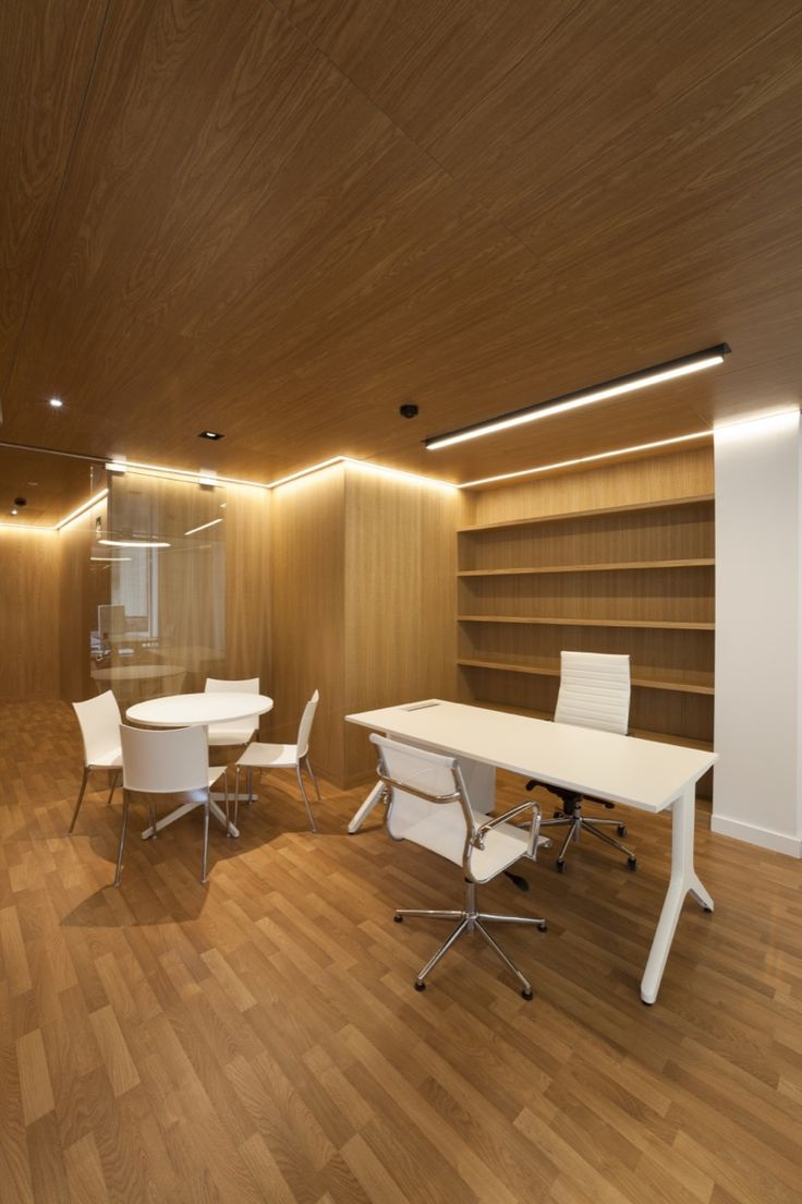 Tewes design nyc executive office seattle interior design - Oficina Bancaria Rubio Bilbao Arquitectos
